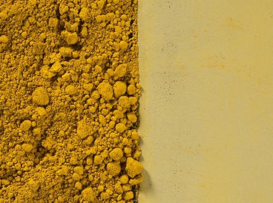 Gekleurd beton geel
